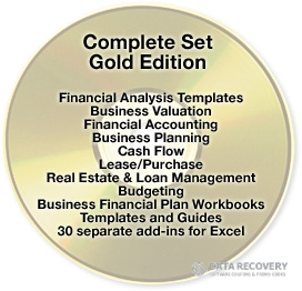 Financial Excel Collection for 2013 Discount Coupon Code