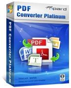 Tipard PDF Converter Platinum Discount Coupon Code