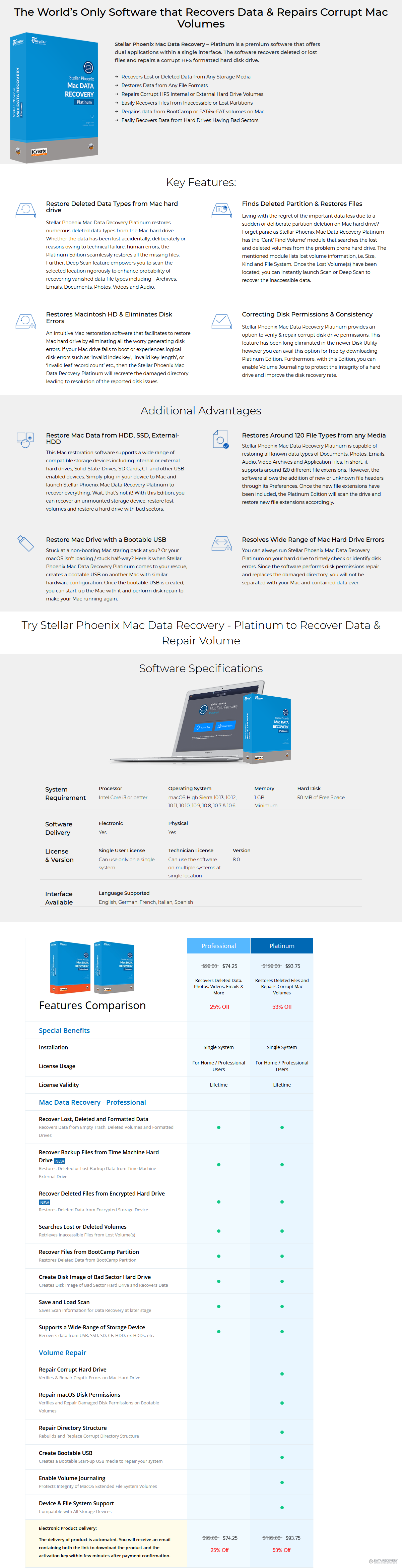 Stellar Phoenix Mac Data Recovery Platinum Discount Coupon Code